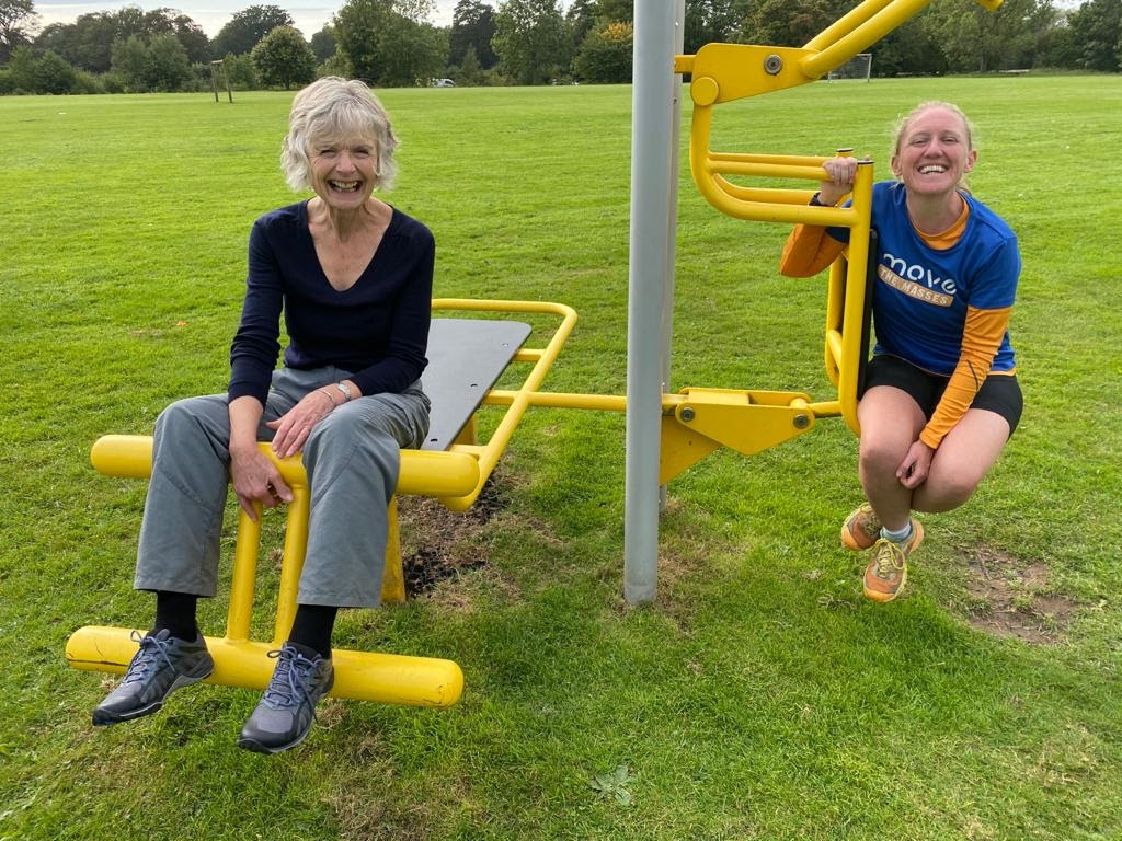 Outdoor Gym equipment to create healthy communities