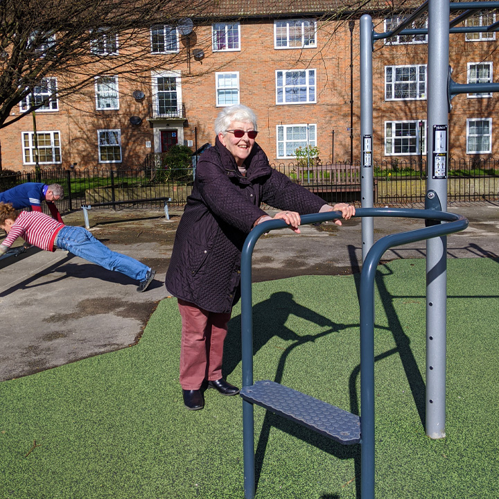 Activate your space session at an outdoor gym run by Move the Masses at Navigation road, York
