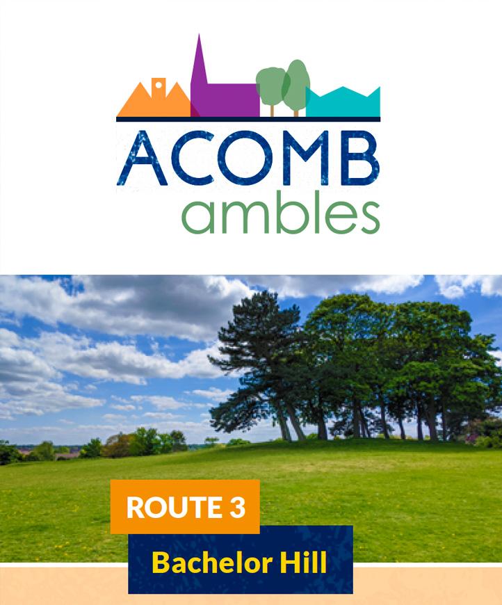 Walks in Acomb, York - Batchelor Hill