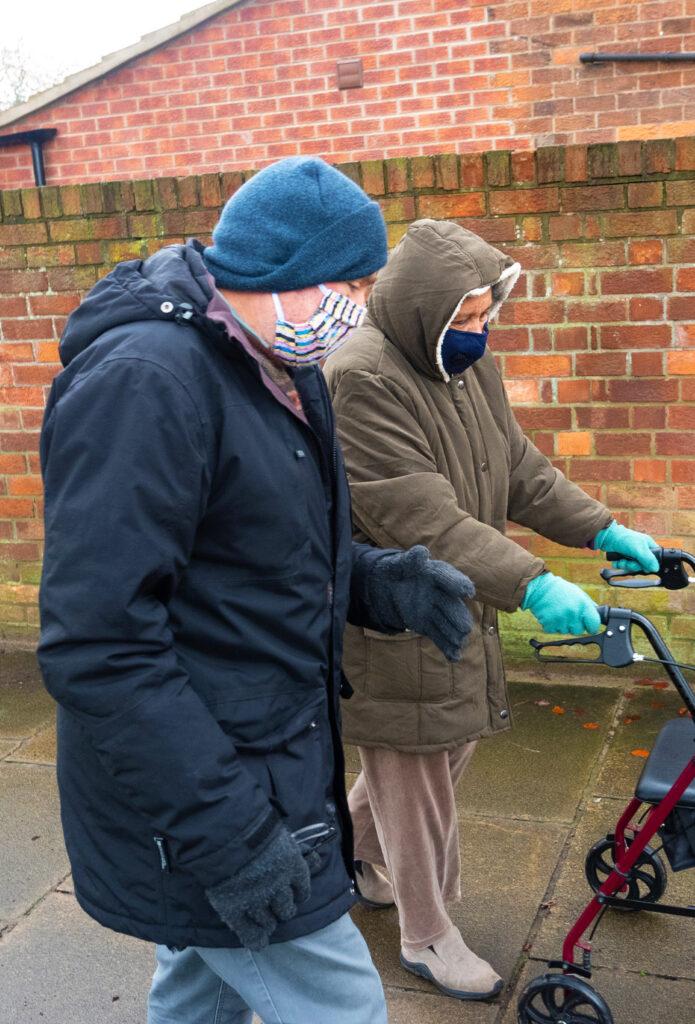 Photo of Move Mates scheme volunteer, building healthy community in York