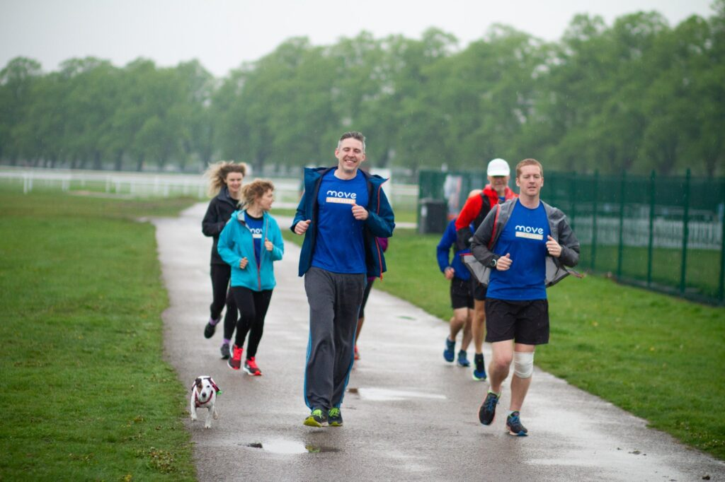 Ed and Michael finish their fundraising challenge